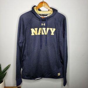 Under Armour NWT Navy Sweatshirt